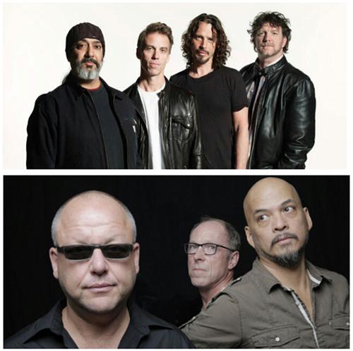 """Pixies & Soundgarden (צילומים: יח""""צ)"""