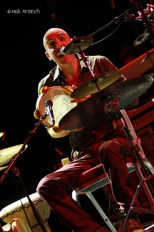 שלישיית מוג'דר דניאלסון פרסקו בפסטיבל ג'אז חורף (צילום: מלי ארואסטי)