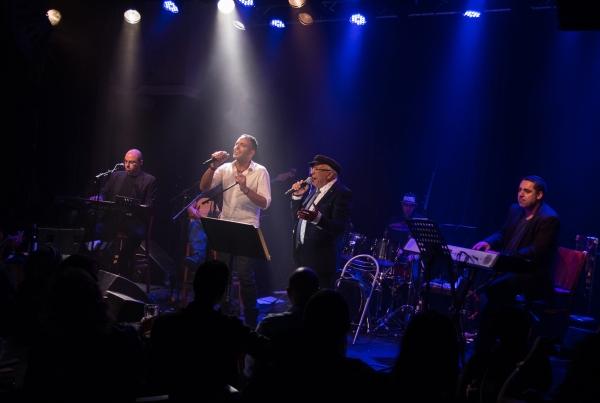 דקלון וסגיב כהן בהופעת ההשקה בזאפה תל אביב (צילום: שרון עובדיה)